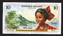 Institut d'Emission des Departements d'Outre-Mer. 1964 ND Issue.