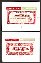 Central Bank of the Philippines 1954 Essay Banknote