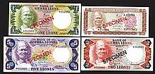 Bank of Sierra Leone. 1978 ND Issue.