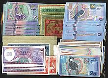 Central bank van Suriname. 1963-2000 Issues.