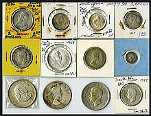 South Africa Silver Coins and More. 1896-1969.