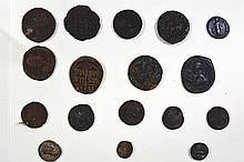 Roman and Byzantine coin selection.