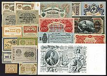 Group of 34 Various Imperial, Local, and USSR Issues