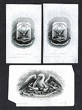 Louisiana State Arms Proofs from ABNC Archives.