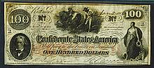 Confederate States of America, Jan. 5, 1863, T-41 Banknote.