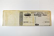 Treasury of the Confederate States. 186x.