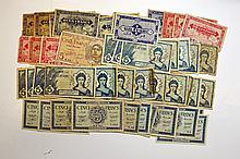 Banque de l'Algerie, 1942-44 issues.