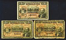 Republica de Chile, 1919.