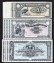 Banco Sur Americano, 1920 Issue.