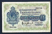 Government of the Falkland Islands. 1938 Issue.