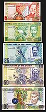 Central Bank of the Gambia. 2006 ND Issue.
