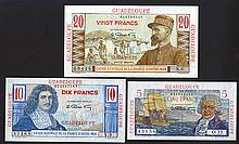 Caisse Centrale de la France d'Outre-Mer. 1947-52 ND Issue.