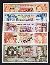 Banco Central del Paraguay. Collector Series.