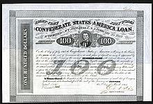 Confederate States of America. 1863.