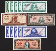 Banco Nacional de Cuba. Issued notes and Specimens Group.