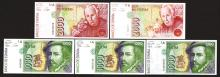 Banco de Espana. 1992 Dated Issues.