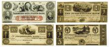 Maryland Obsolete Banknote Assortment.