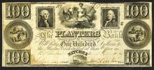 Planters Bank. 100 Dollars.