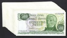Banco Central de la Republica Argentina. 1976 ND Issue.