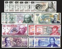 Banco de Mexico. 1969-1999 Issues.