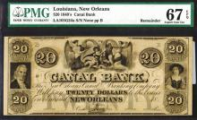 New Orleans Canal & Banking Co., 1840s.