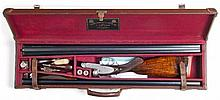 CASED J. PURDEY & SONS BEST S.L.E. PIGEON GUN, 2