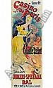 Jules Chéret Paris, 1836 - Nice, 1924 Casino de Paris, Camille Stéfani, 1891 Lithographie en couleurs, doublée sur japon