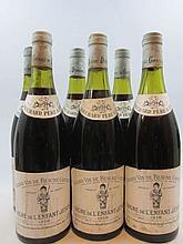 6 bouteilles BEAUNE 1978 1er cru Grèves