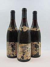 6 bouteilles BEAUNE 1990 1er cru Bressandes