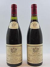 6 bouteilles BEAUNE 1988 1er cru Clos des Ursules