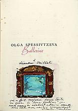 Léandre VAILLAT [BALLETS RUSSES]  OLGA SPESSIVTZEVA BALLERINE