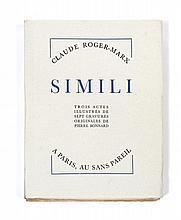 [Pierre BONNARD] Claude ROGER-MARX  SIMILI
