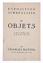 [André BRETON]  EXPOSITION SURREALISTE D'OBJETS
