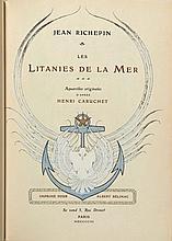 [Henri CARUCHET] Jean RICHEPIN  LES LITANIES DE LA MER