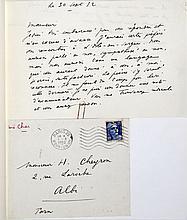 René CHAR  FAIRE DU CHEMIN AVEC...
