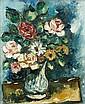 Isaac PAILES (Kiev, 1895- Paris, 1978) VASE DE FLEURS ANCIEN, CIRCA 1930 Huile sur toile