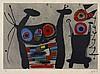 Joan MIRO 1893 - 1983 LEZARD AUX PLUMES D'OR - 1971
