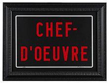 Joël DUCORROY Né en 1955 CHEF-D'OEUVRE - Circa 2000 Sérigraphie en couleurs, signée et numérotée 2/30