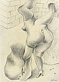 Hans BELLMER (Katowitz, 1902- Paris,1975) POUPEE AUX BAS NOIRS, 1932 Dessin à la mine de plomb sur papier