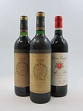 6 bouteilles 2 bts : CHÂTEAU POUJEAUX 1985 Moulis