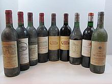 12 bouteilles 1 bt : CHÂTEAU BOYD CANTENAC 1986 2è GC Margaux (étiquette tachée)