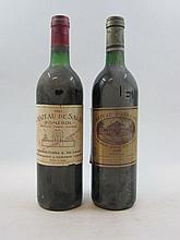 12 bouteilles 10 bts : CHÂTEAU BATAILLEY 1989 5è GC Pauillac (base goulot, 4 légèrement bas, étiquettes tachées)