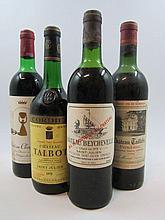 6 bouteilles 1 bt : CHÂTEAU TAILLEFER 1964 Pomerol (mi-épaule)