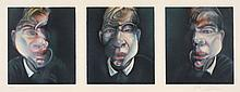 Francis BACON (1909-1992) THREE STUDIES FOR A SELFPORTRAIT, 1981