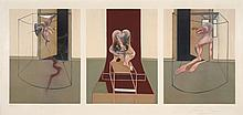 Francis BACON (1909-1992) TRIPTYCH INSPIRED BY ORESTEIA OF AESCHYLUS, 1981