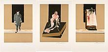 Francis BACON (1909-1992) TRIPTYCH, 1987