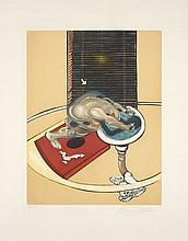 Francis BACON (1909-1992) FIGURE AT A WASHBASIN - 1976, 1978