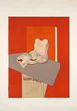 Francis BACON (1909-1992) STUDY OF AN HUMAN BODY AFTER INGRES, 1984