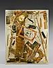 ARMAN (1928 - 2005) LA FIN DES TRADITIONS - 1975 Colère, Horloge comtoise brisée dans résine polyester