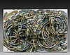 ARMAN (1928 - 2005) DESERT BIKE - 1991 Bicyclette découpée, brosses et acrylique sur panneau